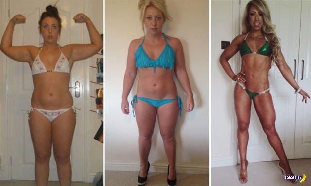 Как толстушка в фитнес-модель превратилась