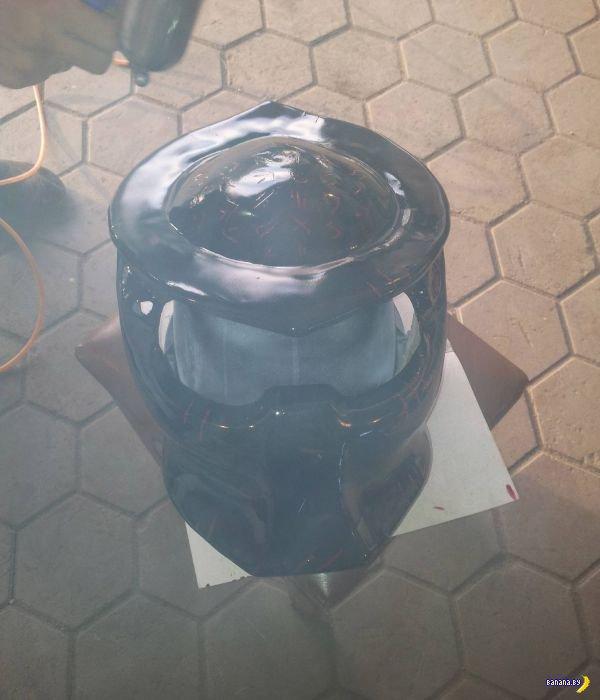Шлем Predator своими руками