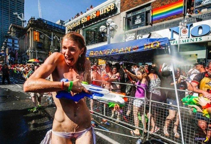Мировое гейство ударило парадами!