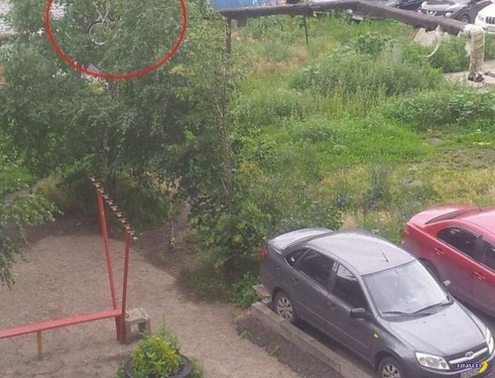 Не шутите на парковках!