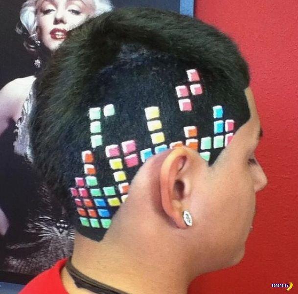 Виртуоз-парикмахер поражает своей работой!