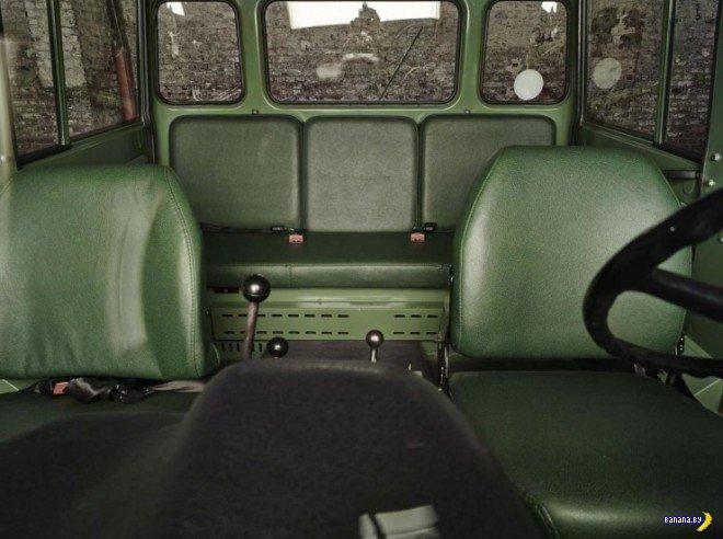 Редкий зверь - Mercedes-Benz Unimog Doppelkabine
