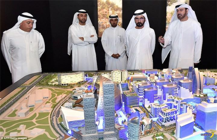 Дубай замахнулся на самый-самый большой молл на планете