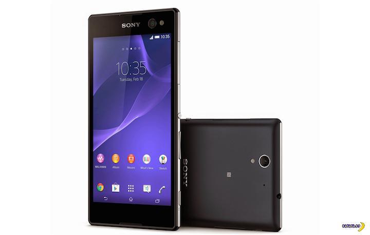 Sony выпускает селфифон