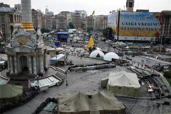 Генпрокурор Украины допустил возможность силового разгона Евромайдана