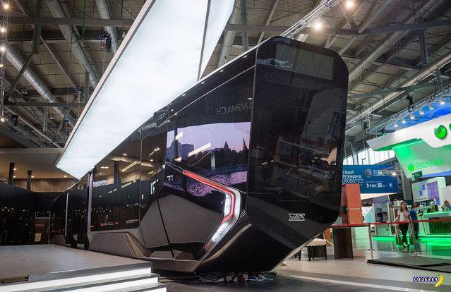 Russian One - российский трамвай из будушего
