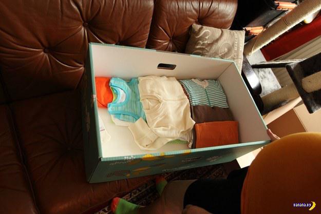 Финский ящик для мамаш