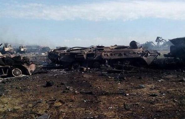 Украина: смертельный смерч под Зеленопольем