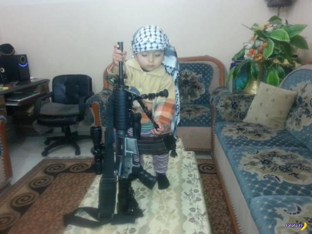 Фото для альбомов палестинских детей