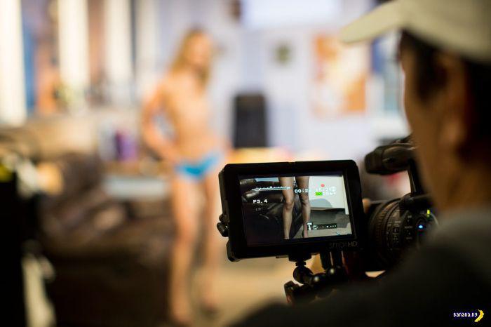 Репортаж со съемок порнофильма