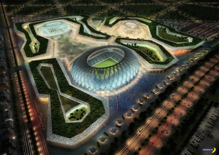 Катарские стадионы и Чемпионат мира по футболу 2022