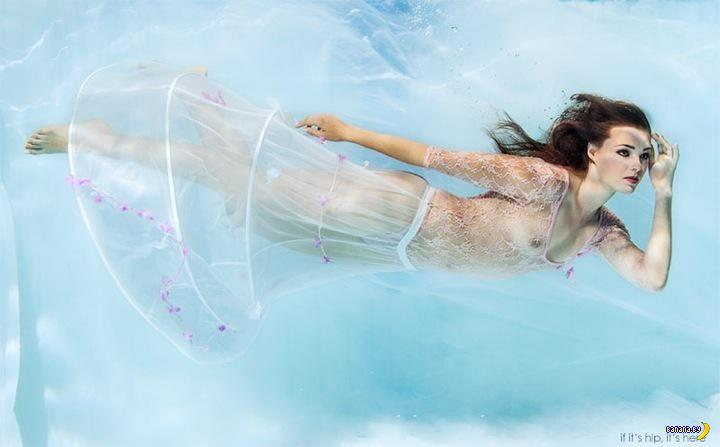Подводное фото Рафала Макелы