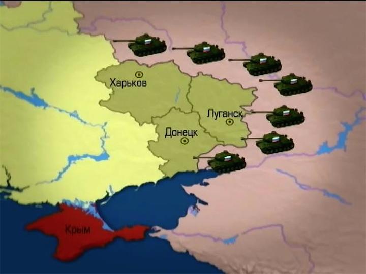 Ввод российский войск на территорию Украины - опрос