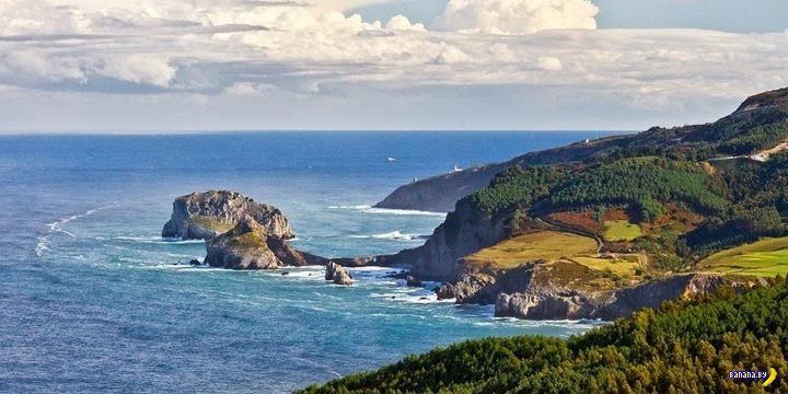 Остров, ставший полуостровом