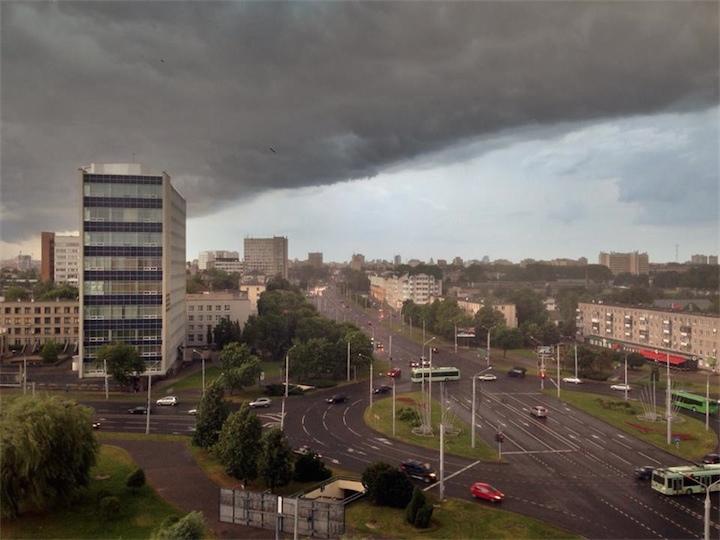 Беларусь: будет жарко и дождливо