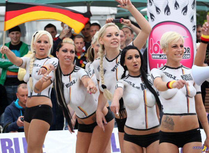 Футболистки из немецких порностудий
