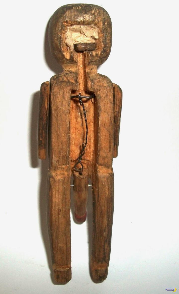 Тяжелое детство, деревянные игрушки