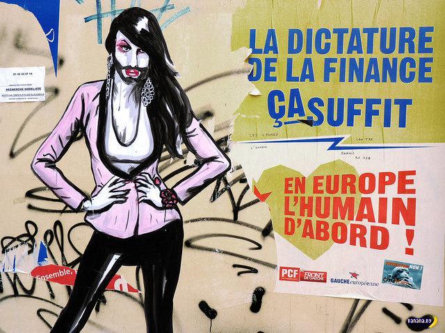 Стены Парижа и Кончита
