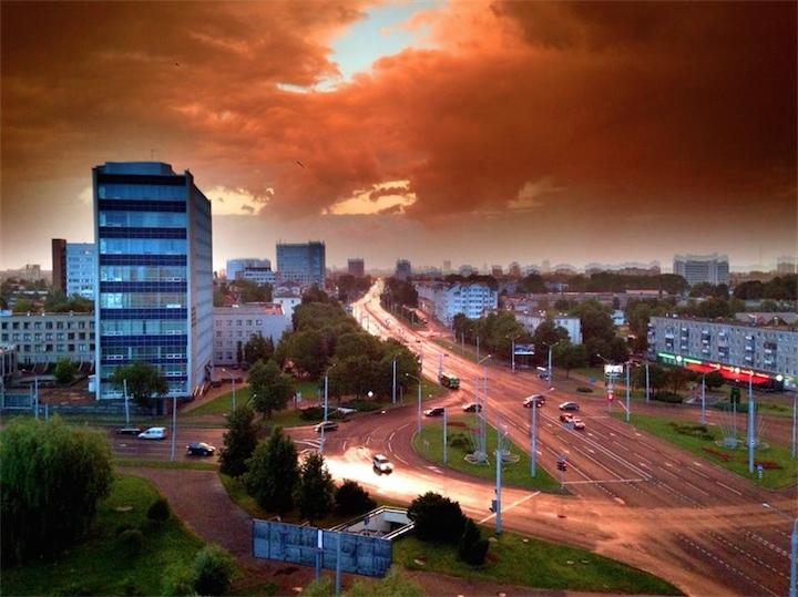 С воскресенья в Беларуси начнутся сильные дожди