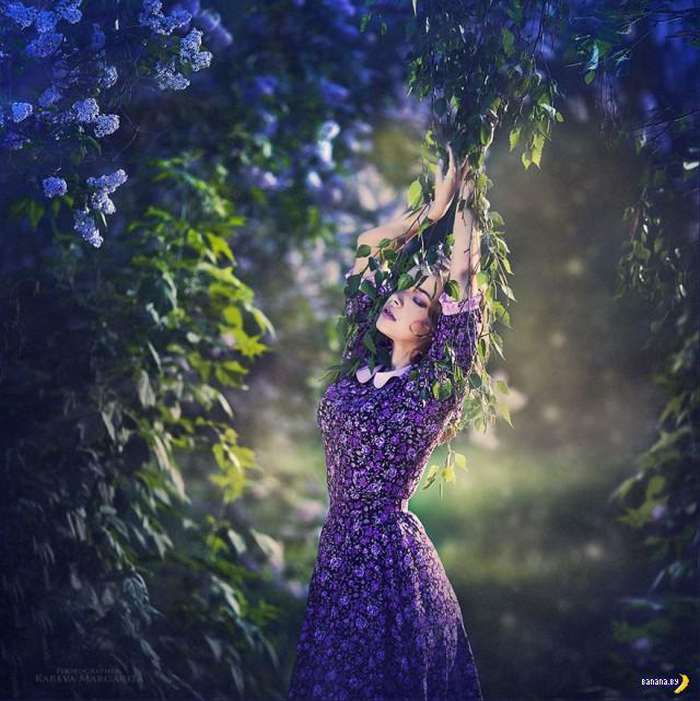 Сказочные миры фотографа Маргариты Каревой