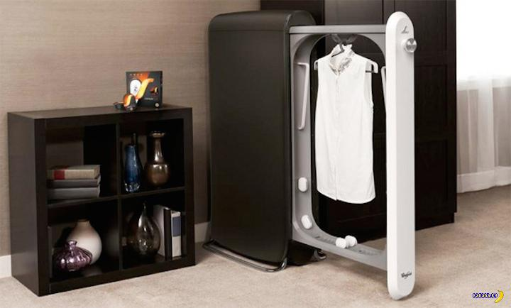 В Whirlpool придумали машину для освежения одежды