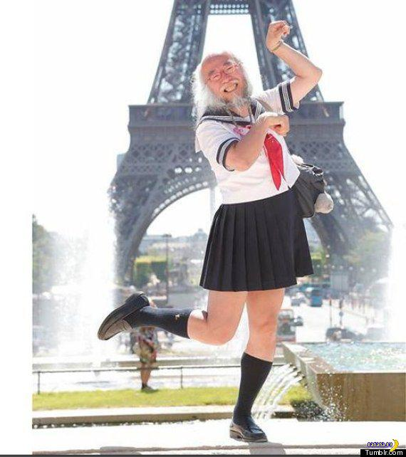 Самая известная школьница Японии
