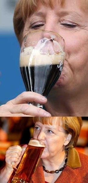 Меркель знает толк!