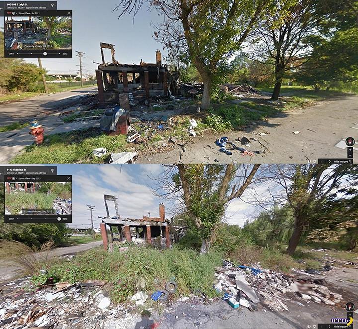 Как исчезает Детройт