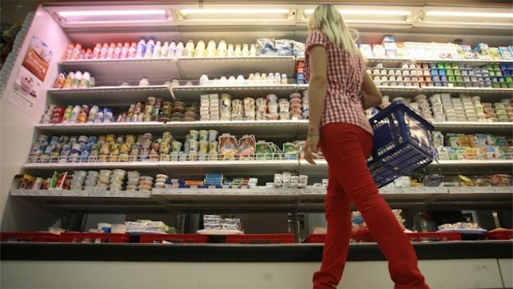 Украинское молоко не попадет в Россию