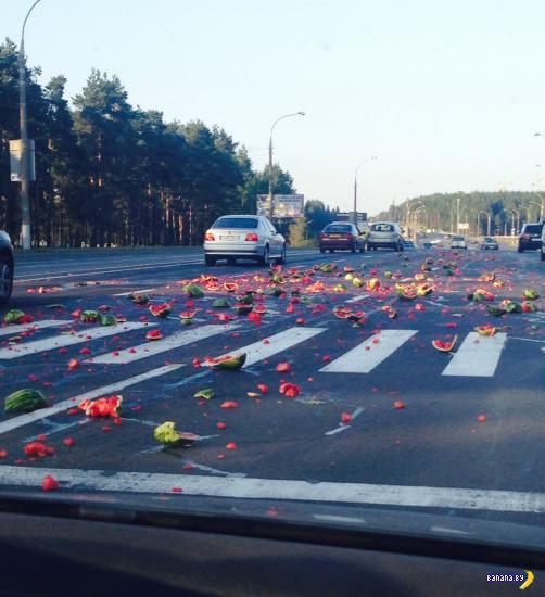 Страшное свидетельство геноцида арбузов в Минске