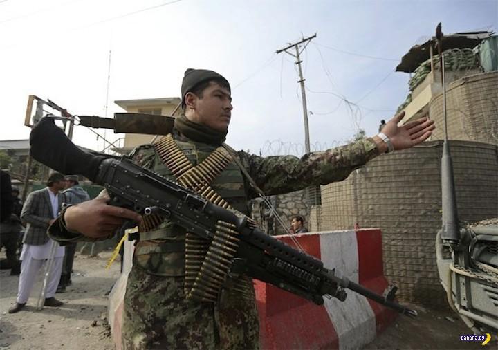 Про американское оружие в Афганистане