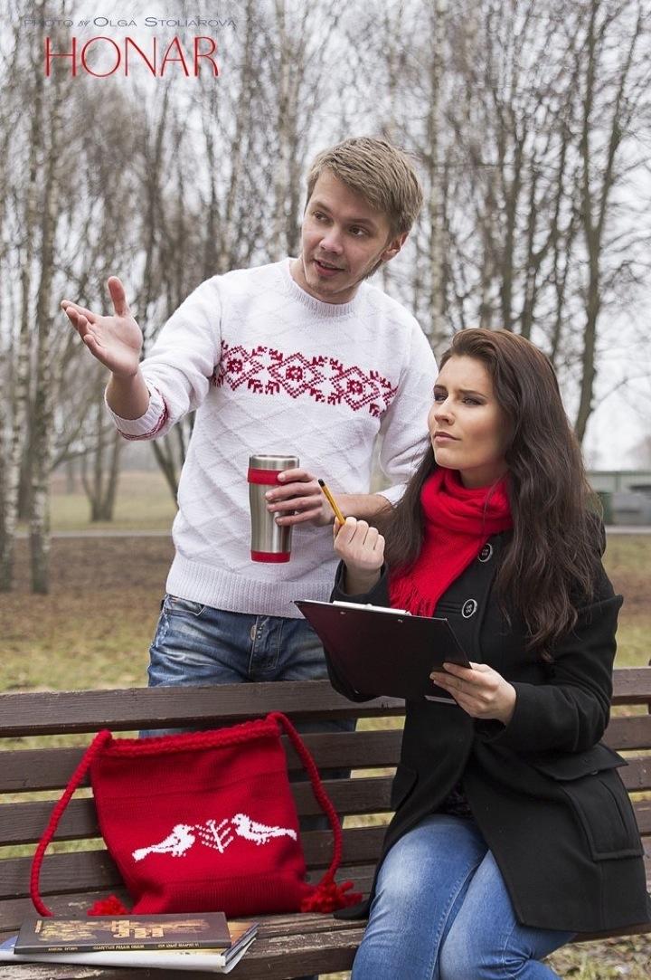 """Начинают продвигать белорусские """"вышыванкi"""""""