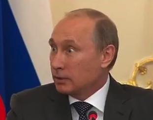 Очень забавный Путин