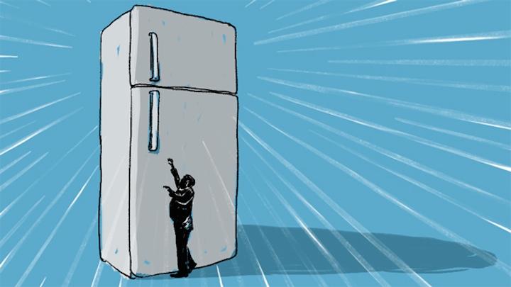 Огромные холодильники делают американцев жирными и бедными
