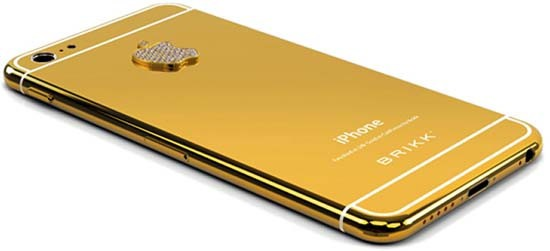 Brikk уже принимает предзаказы на золотой iPhone 6