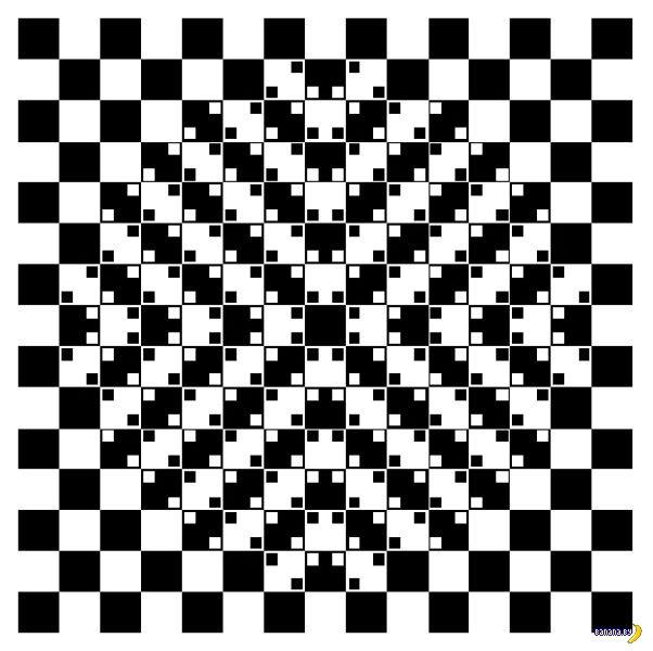 Оптические иллюзии профессора Китаока