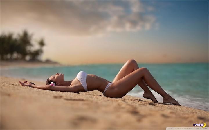 Лето, жара, отдых у воды