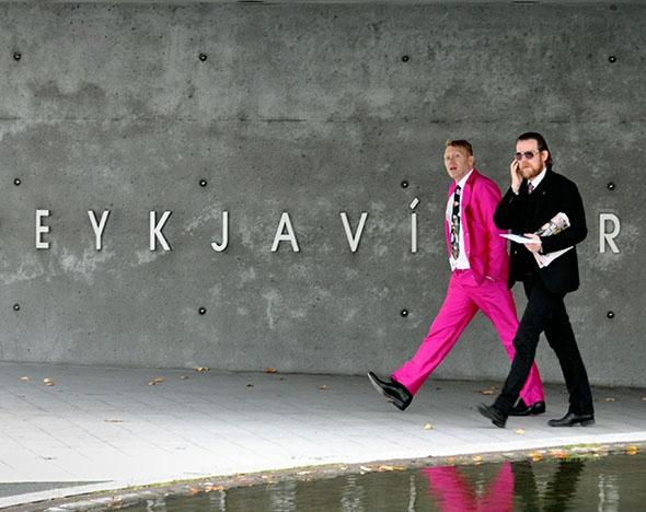 Йон Гнарр (экс-мэр Рейкьявика) :  Больше панка, меньше ада