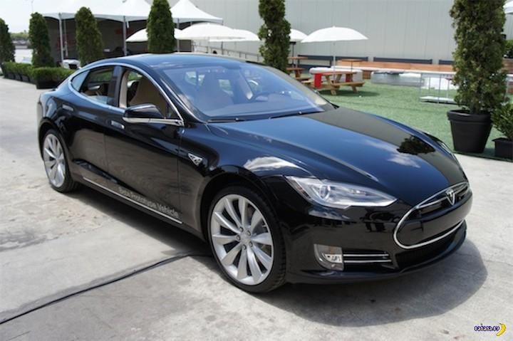 Сколько жрёт Tesla?