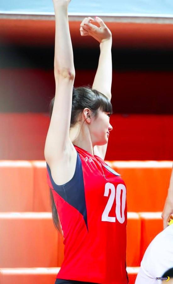 Слишком красивая для волейбола
