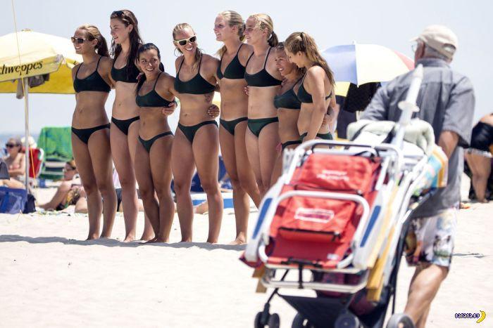 Турнир девушек-спасателей в Нью-Джерси