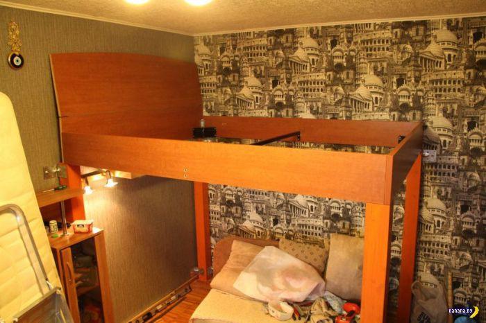 Спальня на втором этаже своими руками