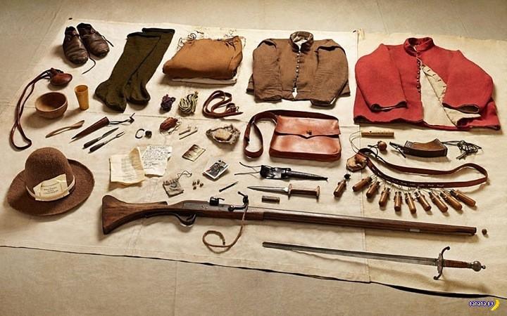 История британской армии в фотографиях снаряжения