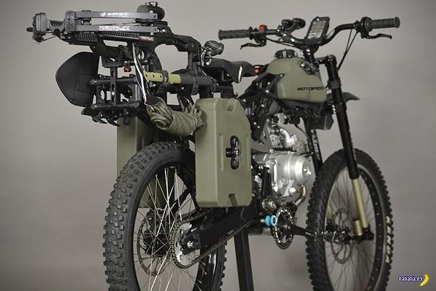 Motoped для борьбы с зомби