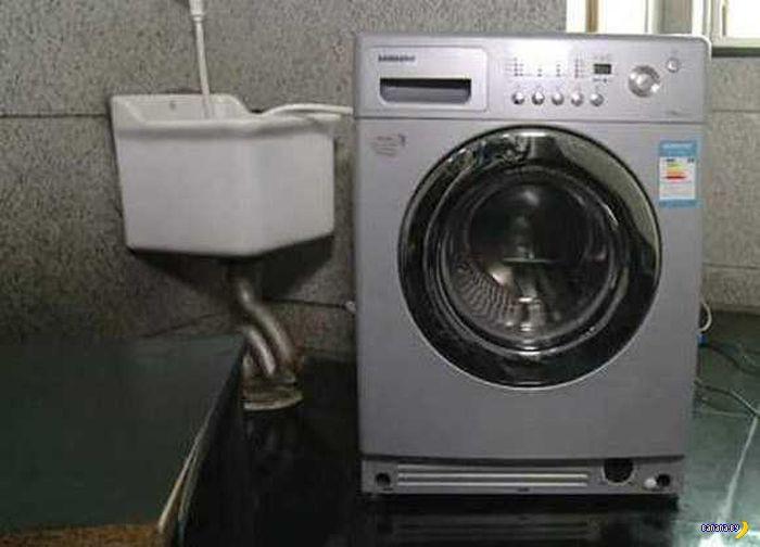 Варим суп в стиральной машине