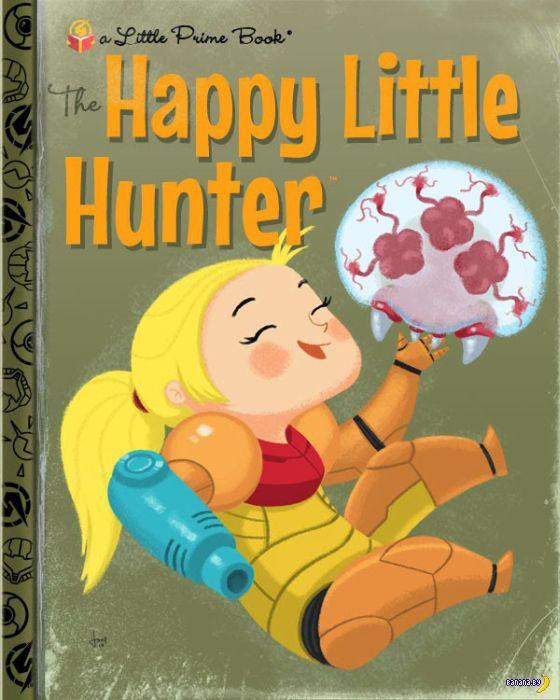 Если бы игры и сериалы были детскими книгами...