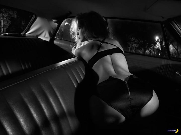 Придумали фотосеты в стиле Sin City