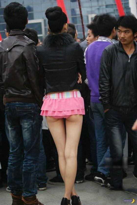 Нано-юбка?