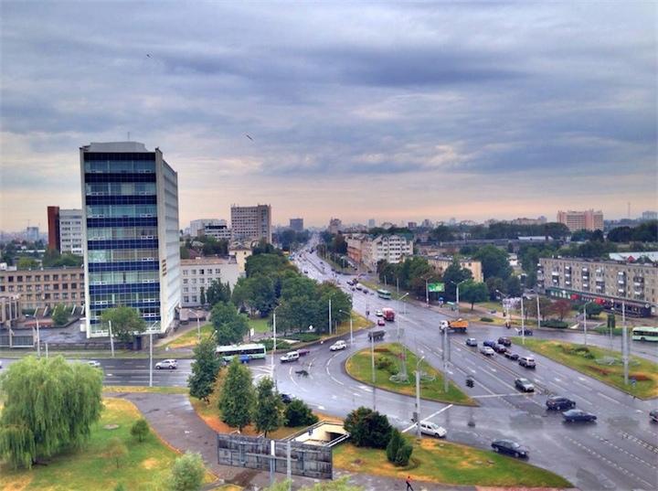 На Беларусь надвигается атмосферный фронт