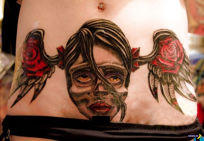 Очень странная татуировка